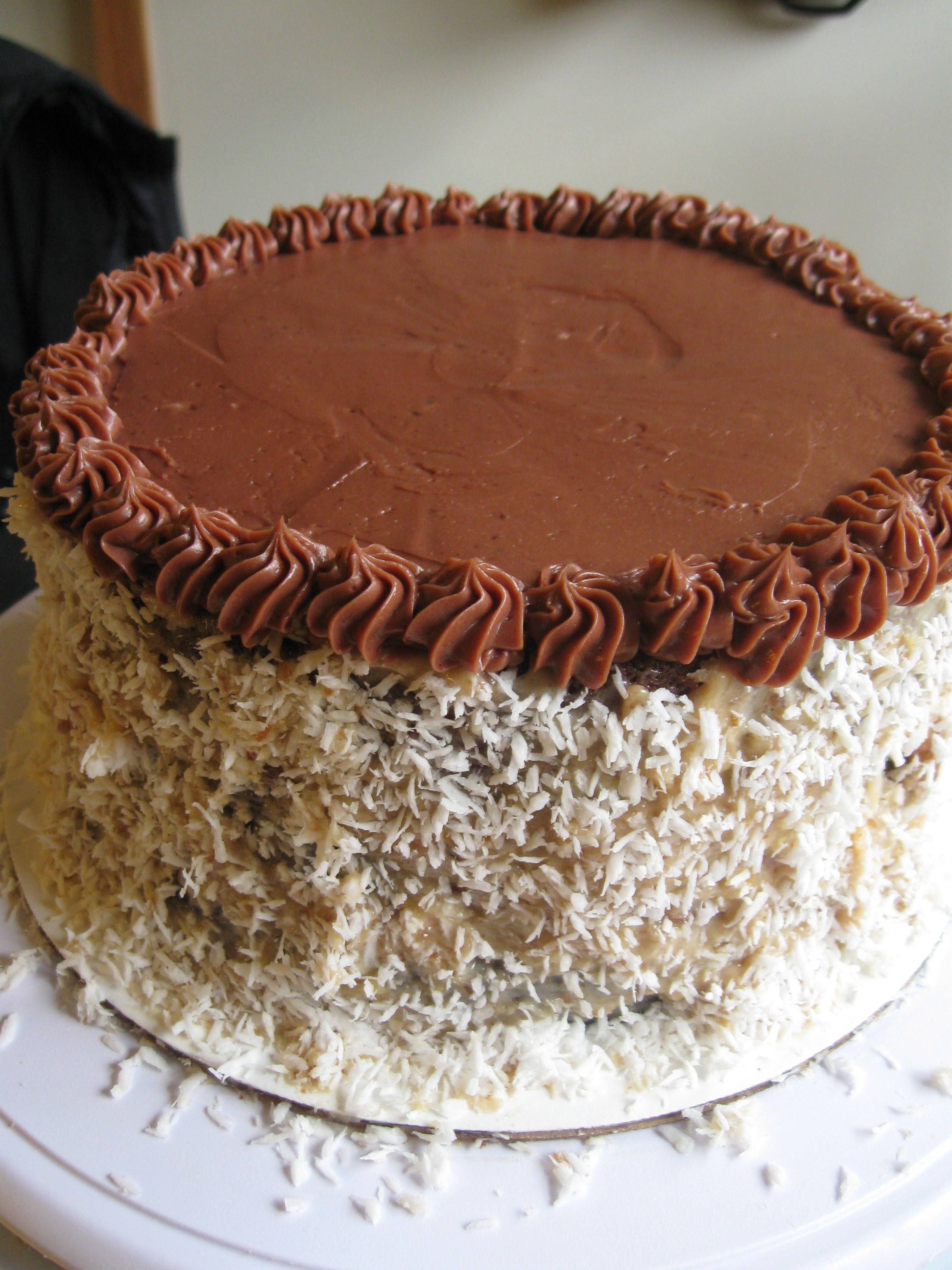 Decorated German Chocolate Cake Cakes Panader A Bread Uprising Bakery